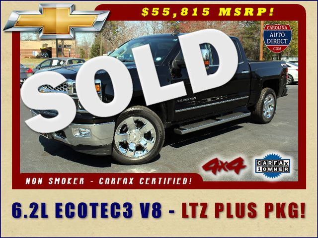 2015 Chevrolet Silverado 1500 LTZ PLUS Crew Cab 4x4 - NAVIGATION - 6.2L V8! Mooresville , NC 0
