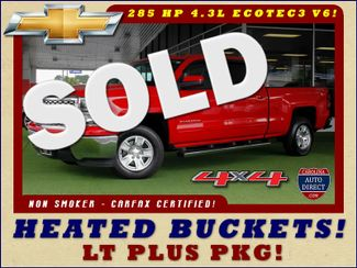 2015 Chevrolet Silverado 1500 LT PLUS Crew Cab 4x4 - HEATED BUCKET SEATS! Mooresville , NC