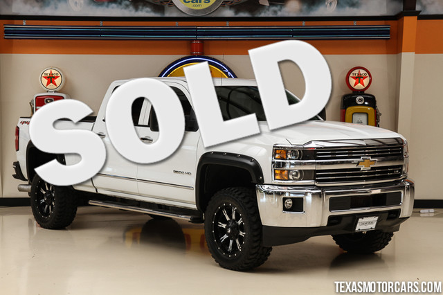2015 Chevrolet Silverado 2500HD Built LTZ 4x4 This Carfax 1-Owner 2015 Chevrolet Silverado 2500HD