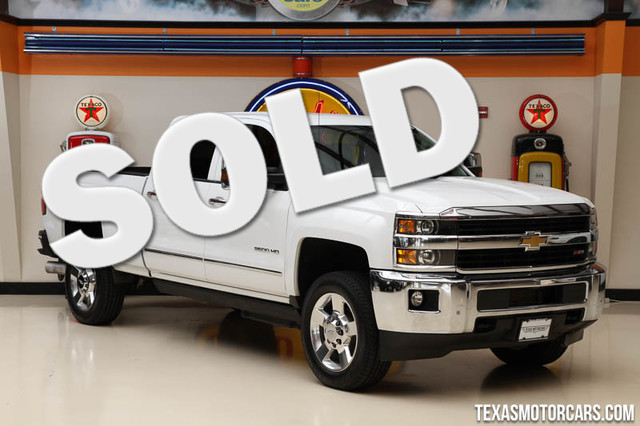 2015 Chevrolet Silverado 2500HD Built LTZ This Carfax 1-Owner 2015 Chevrolet Silverado 2500HD LTZ