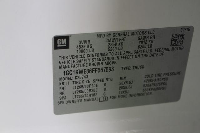 2015 Chevrolet Silverado 2500HD Built After Aug 14 LTZ PLUS Crew Cab 4x4 Z71 - NAV - SUNROOF! Mooresville , NC 47