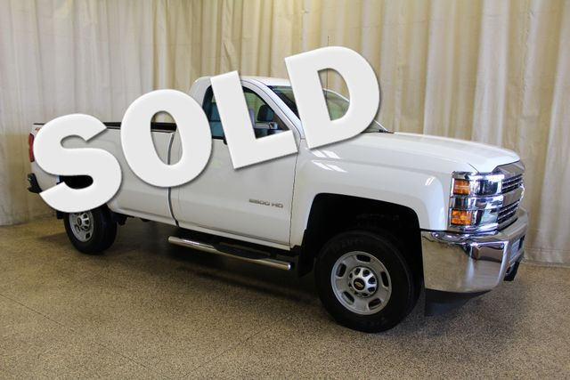 2015 Chevrolet Silverado 2500HD Long Bed Work Truck Roscoe, Illinois 0