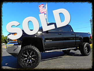 """2015 Chevrolet Silverado 2500HD Built After Aug 14 7"""" LIFT FUEL 22""""S LEATHER 37"""" TIRES Tampa, Florida"""