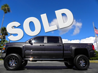 2015 Chevrolet Silverado 2500HD Built After Aug 14 CUSTOM LIFTED 4X4 CREW CAB LEATHER Tampa, Florida