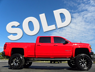 """2015 Chevrolet Silverado 2500HD Built After Aug 14 CUSTOM LIFTED 4X4 CREWCAB LT LEATHER FUEL 37""""S Tampa, Florida"""