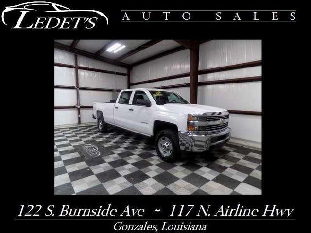 2015 Chevrolet Silverado 2500HD  - Ledet's Auto Sales Gonzales_state_zip in Gonzales Louisiana