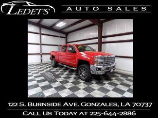 2015 Chevrolet Silverado 2500HD LTZ 4WD Z71 - Ledet's Auto Sales Gonzales_state_zip in Gonzales