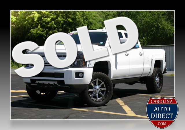 2015 Chevrolet Silverado 2500HD High Country Crew Cab 4x4 - LIFTED! Mooresville , NC 0