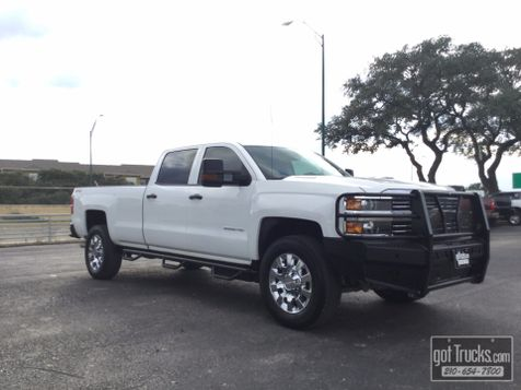2015 Chevrolet Silverado 2500HD Crew Cab Work Truck 6.6L Duramax Diesel 4X4 | American Auto Brokers San Antonio, TX in San Antonio, Texas