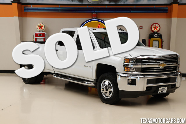2015 Chevrolet Silverado 3500HD Built LT This Carfax 1-Owner 2015 Chevrolet Silverado 3500HD is in