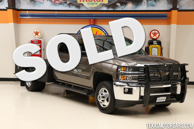 2015 Chevrolet Silverado 3500HD Built LT This 2015 Carfax 1-Owner Chevrolet Silverado 3500HD is in