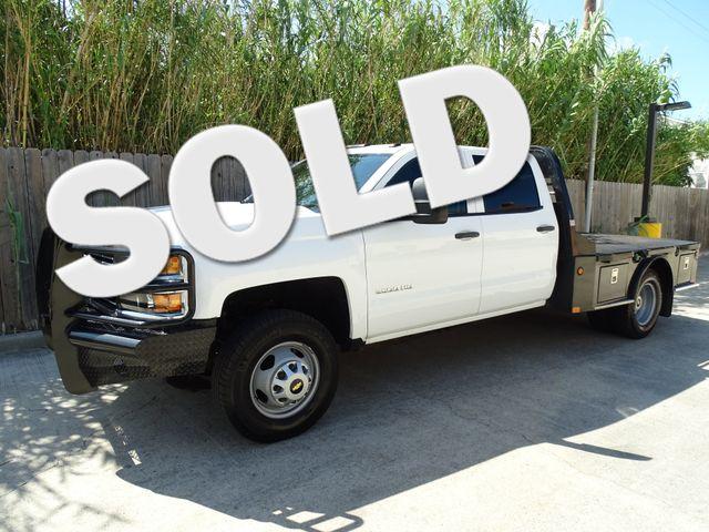 2015 Chevrolet Silverado 3500HD Flat Bed Work Truck Corpus Christi, Texas 0