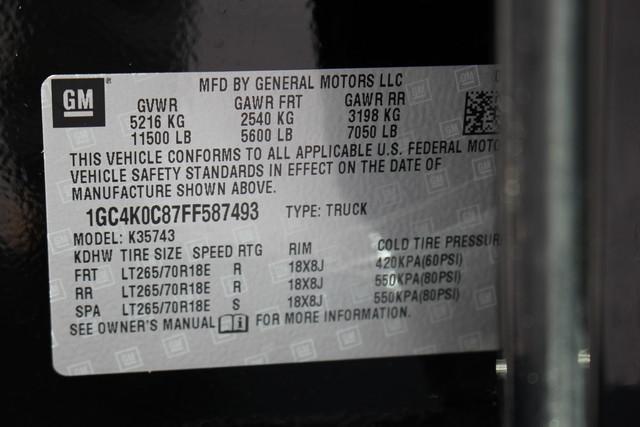 2015 Chevrolet Silverado 3500HD LTZ-4X4-NAV-LOADED!! Mooresville , NC 58