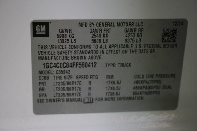 2015 Chevrolet Silverado 3500HD Built After Aug 14 LTZ PLUS Crew Cab Long Bed RWD - NAVIGATION! Mooresville , NC 41