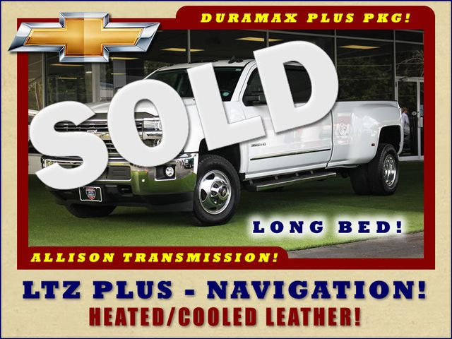 2015 Chevrolet Silverado 3500HD Built After Aug 14 LTZ PLUS Crew Cab Long Bed RWD - NAVIGATION! Mooresville , NC 0