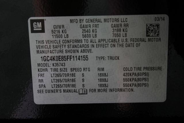 2015 Chevrolet Silverado 3500HD Built After Aug 14 LTZ PLUS Crew Cab 4x4 - DRIVER ALERT PKG! Mooresville , NC 45