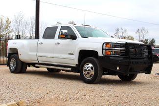 2015 Chevrolet Silverado 3500 HD DRW High Country Crew Cab 4X4 6.6L Duramax Diesel Allison Auto LOADED Sealy, Texas 1