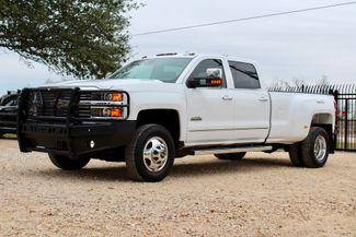 2015 Chevrolet Silverado 3500 HD DRW High Country Crew Cab 4X4 6.6L Duramax Diesel Allison Auto LOADED Sealy, Texas 5