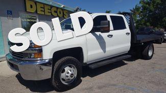 2015 Chevrolet Silverado 3500HD DRW 4x4 Duramax Diesel Flatbed Fort Pierce, FL