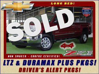 2015 Chevrolet Silverado 3500HD LTZ PLUS SRW Crew Cab Long Bed 4x4 Z71 Mooresville , NC