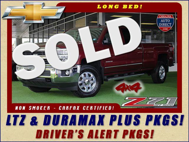 2015 Chevrolet Silverado 3500HD LTZ PLUS SRW Crew Cab Long Bed 4x4 Z71 Mooresville , NC 0