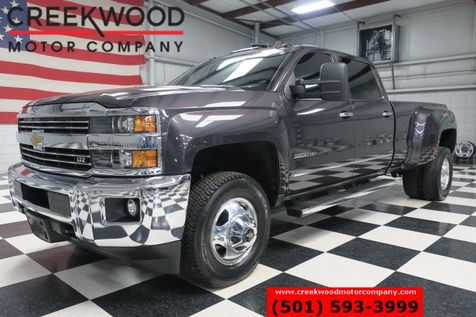 2015 Chevrolet Silverado 3500HD LTZ 4x4 Diesel Dually B&W Leather Htd Nav Chrome in Searcy, AR