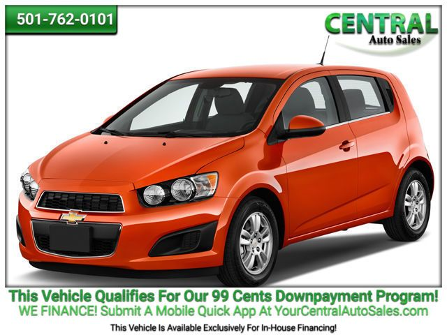 2015 Chevrolet Sonic LTZ | Hot Springs, AR | Central Auto Sales in Hot Springs AR