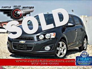 2015 Chevrolet Sonic LTZ | Lewisville, Texas | Castle Hills Motors in Lewisville Texas