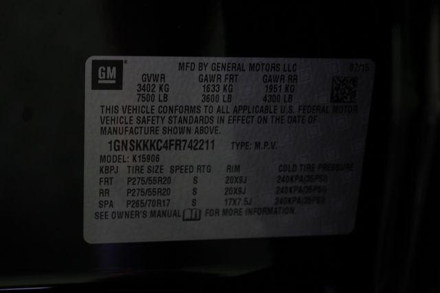 2015 Chevrolet Suburban LTZ 4x4 - NAV - DUAL DVDS - SUNROOF! Mooresville , NC 54