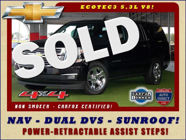2015 Chevrolet Suburban LTZ 4x4 - NAV - DUAL DVDS - SUNROOF! Mooresville , NC 0