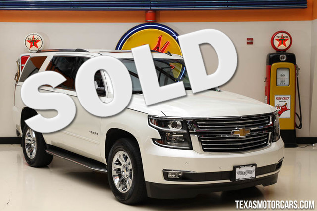 2015 Chevrolet Tahoe LTZ This Carfax 1-Owner 2015 Chevrolet Tahoe LTZ is in great shape with only
