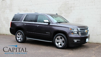 2015 Chevrolet Tahoe LTZ 4WD Luxury SUV w/3rd Row, Navigation, DVD Entertainment, Bose Audio & 20