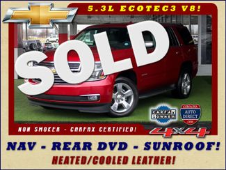 2015 Chevrolet Tahoe LTZ 4WD - NAV - REAR DVD - SUNROOF! Mooresville , NC