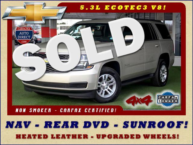 2015 Chevrolet Tahoe LT 4x4 - NAVIGATION - REAR DVD - SUNROOF! Mooresville , NC 0
