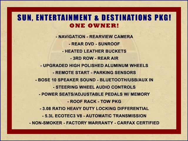 2015 Chevrolet Tahoe LT 4x4 - NAVIGATION - REAR DVD - SUNROOF! Mooresville , NC 1