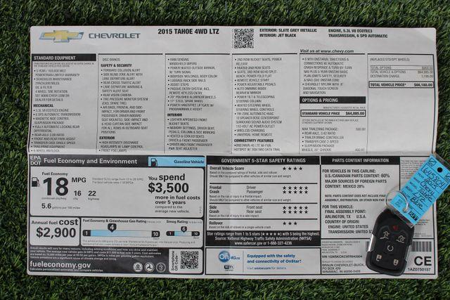 "2015 Chevrolet Tahoe LTZ 4X4 - 22"" ASANTI WHEELS - NAV! Mooresville , NC 5"