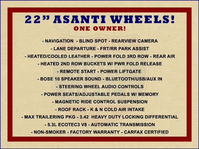 "2015 Chevrolet Tahoe LTZ 4X4 - 22"" ASANTI WHEELS - NAV! Mooresville , NC 1"
