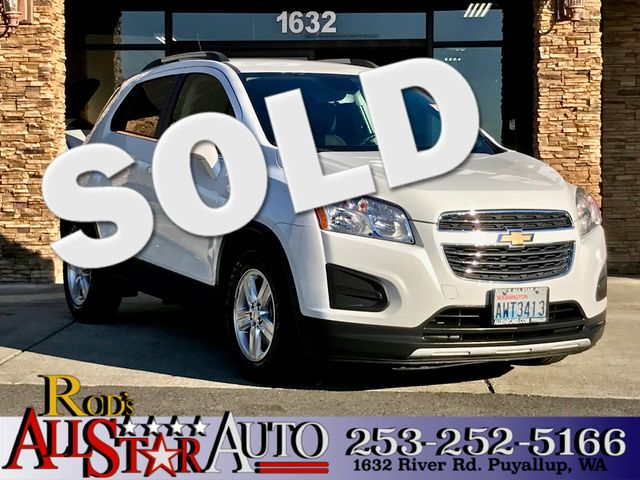 2015 Chevrolet Trax LT This vehicle is a CarFax certified one-owner used car Pre-owned vehicles c