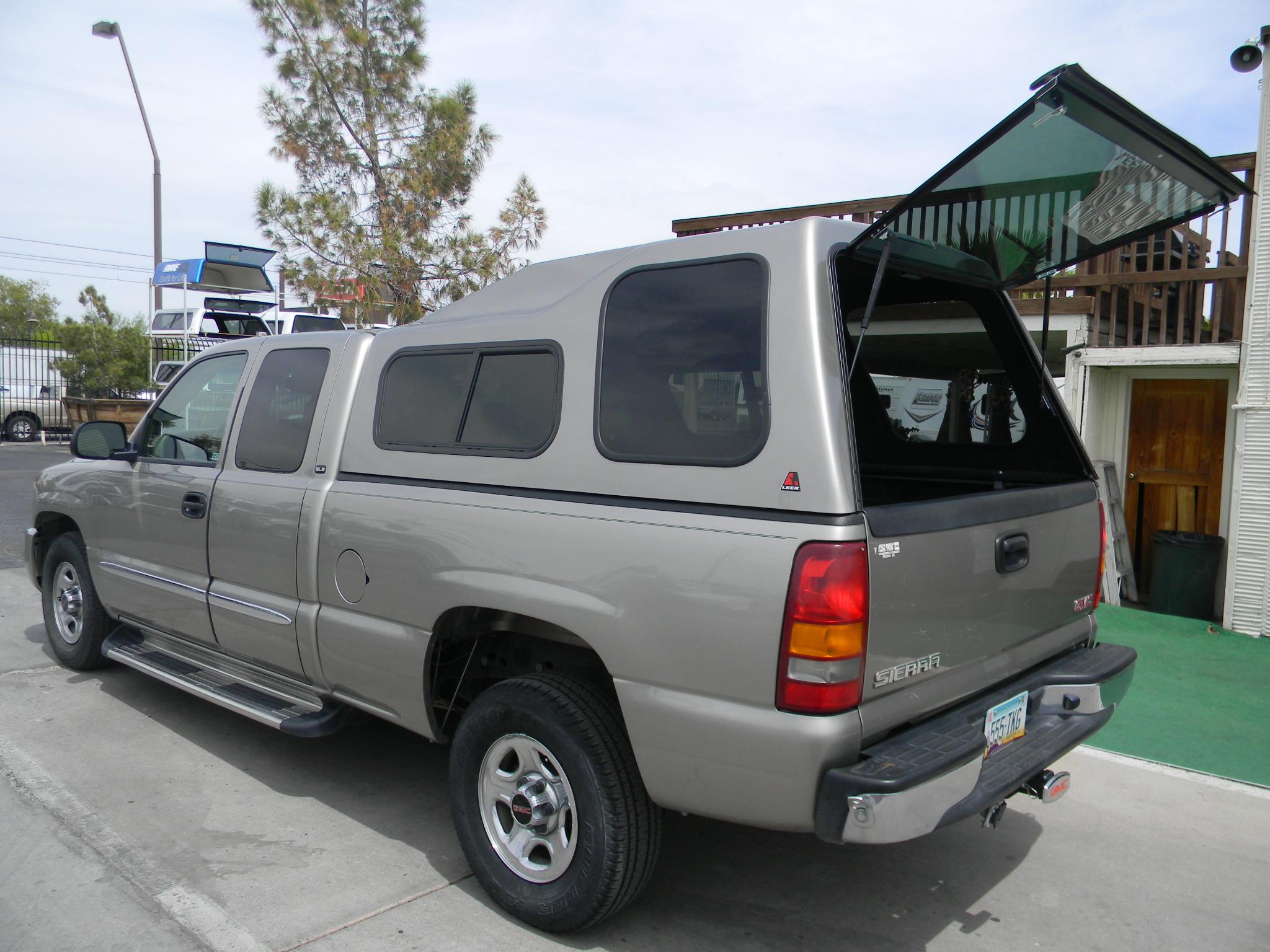Fiberglass Camper Tops : Chevy camper shell mesa az