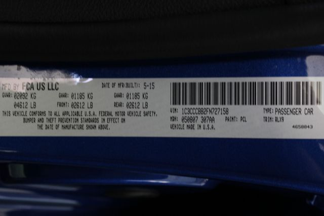 2015 Chrysler 200 S - COMFORT PKG - HEATED LEATHER! Mooresville , NC 39