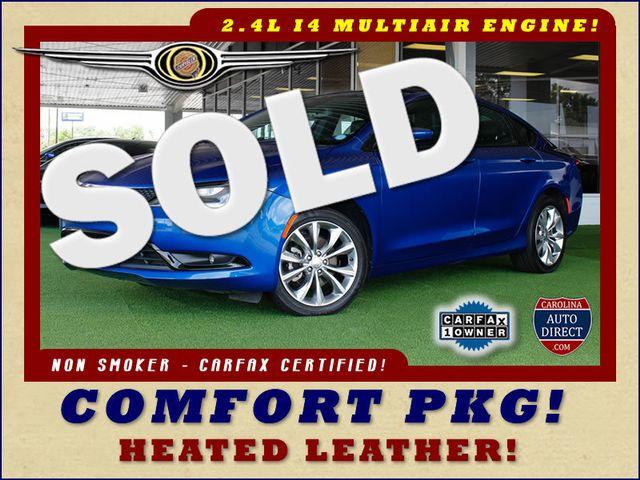 2015 Chrysler 200 S - COMFORT PKG - HEATED LEATHER! Mooresville , NC 0