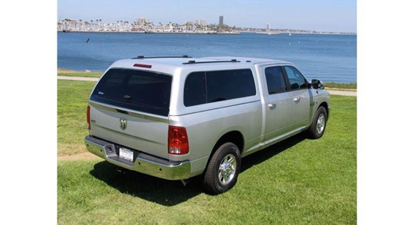 Fiberglass Camper Tops : Dodge camper shells mesa az