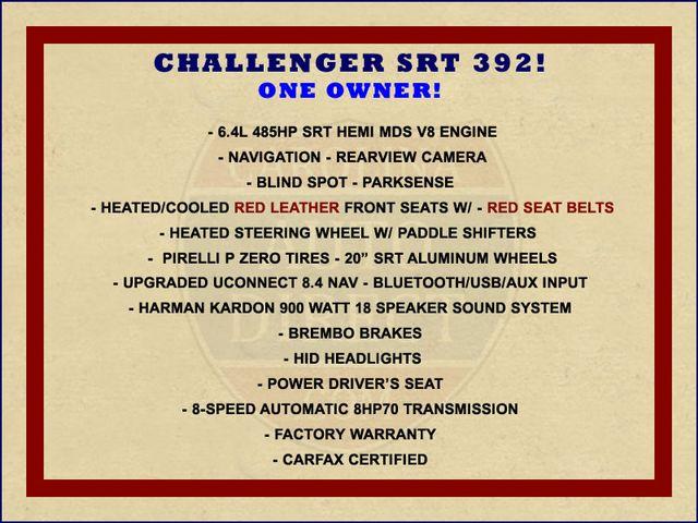 2015 Dodge Challenger SRT 392 - NAVIGATION - RED SUEDE/LEATHER! Mooresville , NC 1