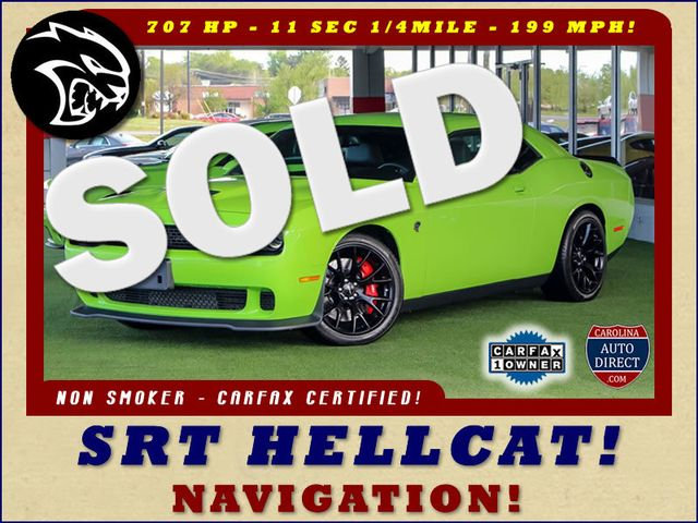 2015 Dodge Challenger SRT Hellcat - NAVIGATION - 199 MPH TOP SPEED! Mooresville , NC 0