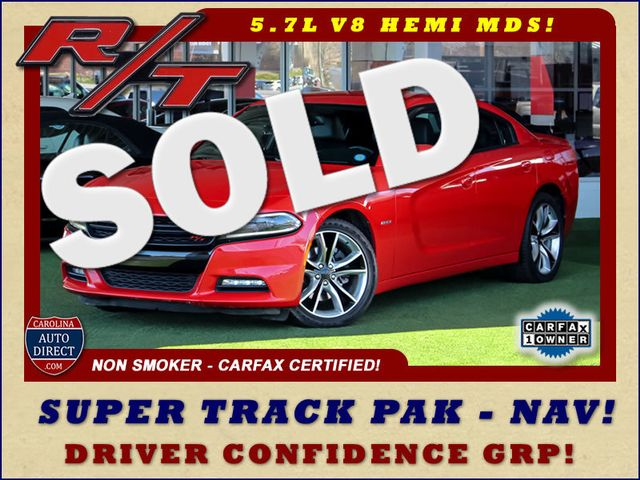 2015 Dodge Charger Road/Track - NAV - DRIVER CONFIDENCE GRP! Mooresville , NC 0