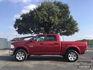 2015 Dodge Ram 1500 Crew Cab Outdoorsman 3.0L V6 EcoDiesel 4X4 | American Auto Brokers San Antonio, TX in San Antonio Texas