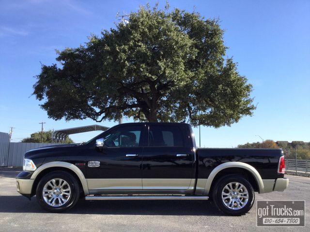 2015 Dodge Ram 1500 Crew Cab Laramie Longhorn 3.0L EcoDiesel   American Auto Brokers San Antonio, TX in San Antonio Texas