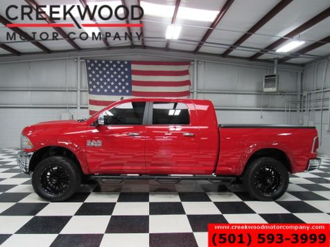 2015 Dodge Ram 2500 Laramie 4x4 Diesel Red Mega Cab 20s Lifted Leather in Searcy, AR