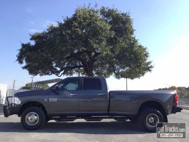 2015 Dodge Ram 3500 Crew Cab SLT 6.7L Cummins Turbo Diesel 4X4 | American Auto Brokers San Antonio, TX in San Antonio Texas