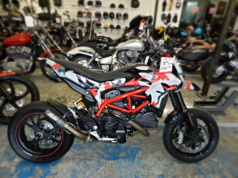 2015 Ducati Hypermotard SP Warranty  city Florida  MC Cycles  in Hollywood, Florida